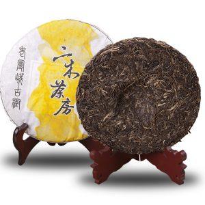 老曼峨古樹2015普洱春茶(357克/餅)