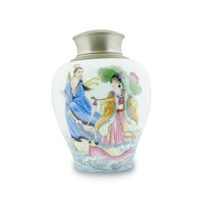 4.1手繪八仙過海茶罐