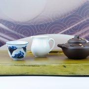 51.2綠檀木茶盤