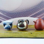 51.3綠檀木茶盤