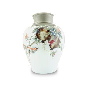 6.1手繪石榴茶罐
