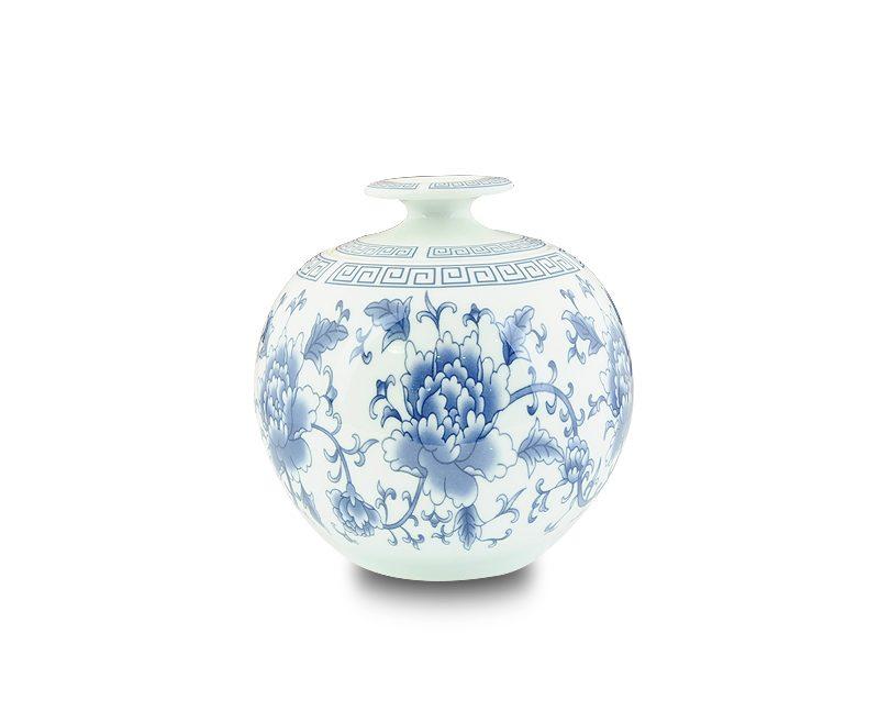 8.2青花瓷牡丹茶罐