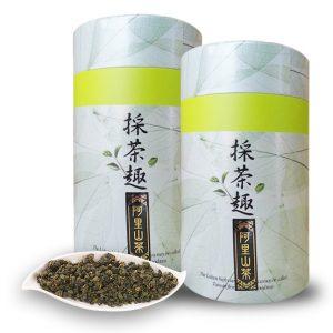 台灣高山茶-阿里山金萱(150公克/罐)2罐入