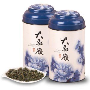 台灣高山茶-大禹嶺烏龍茶(100公克/罐 2罐入)
