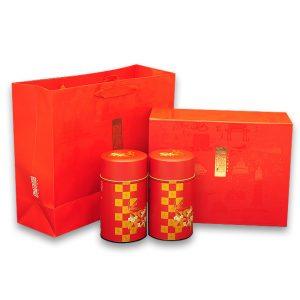 中秋節高山茶禮盒-大禹嶺烏龍茶300公克(150公克2入)