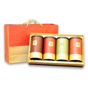 中秋節高山茶禮盒-杉林溪烏龍茶600公克(150公克4入)