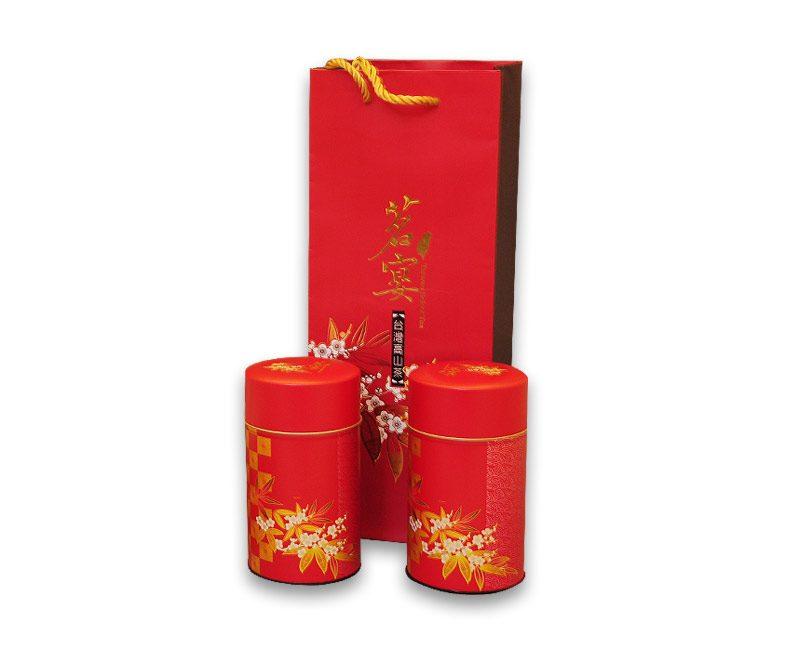 中秋節高山茶禮盒-杉林溪烏龍茶300公克(150公克2入)