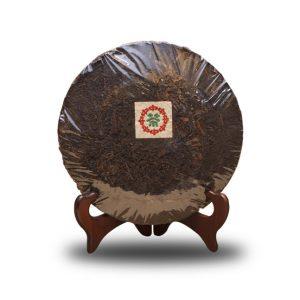 70年代勐海茶廠七子小綠印青餅